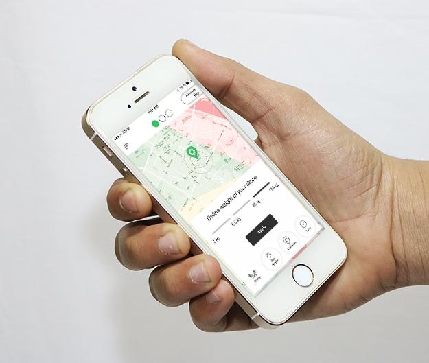Droneradar app