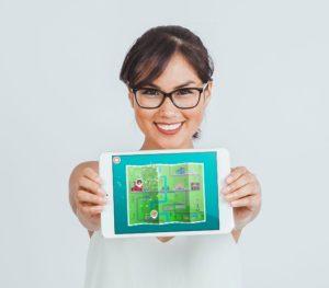 Galante Game na iPadzie
