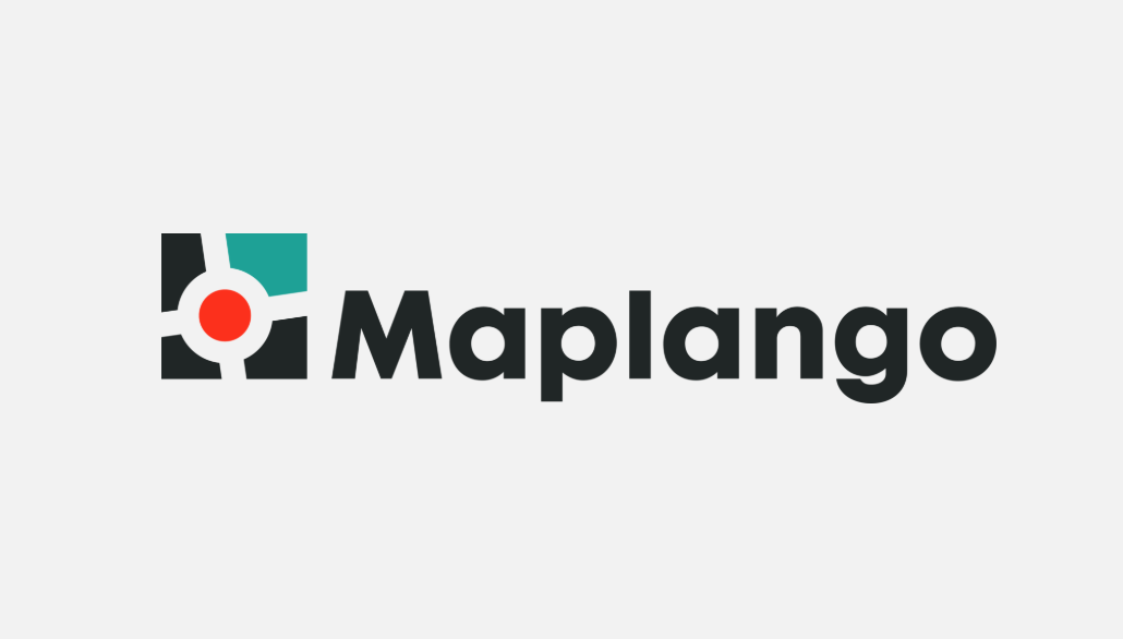 Maplango logo design