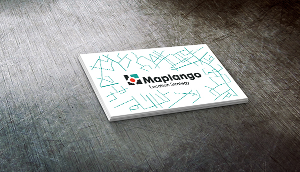 Maplango business card.