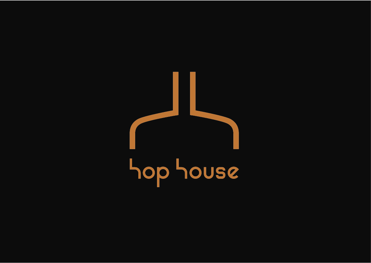 Hop House by Hilton logo design